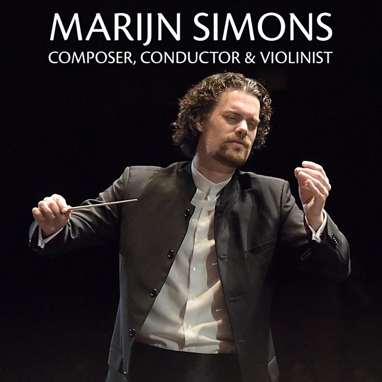 Marijn Simons - Conductor, Composer - RaiseApp HTML5 Template